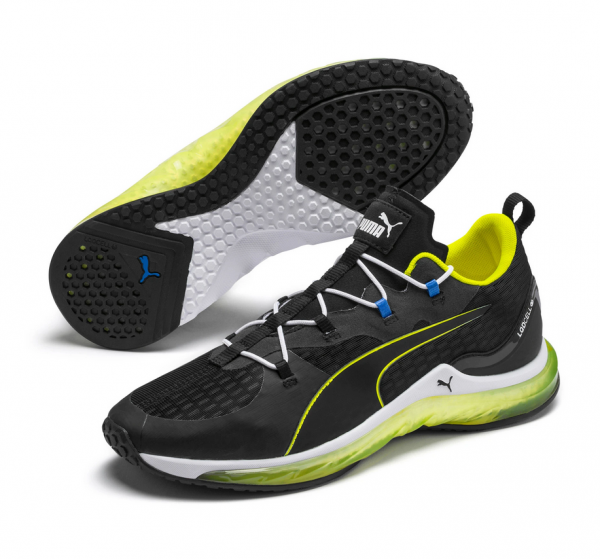 Puma LQDCELL HYDRA Herren Sneaker, Puma Black/Yellow Alert