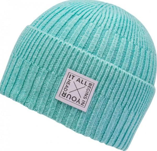 Chillouts SHEALYN Damen Mütze, Turquoise