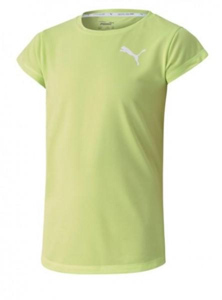 851749 34 Puma ACTIVE Mädchen Shirt, Sharp Green