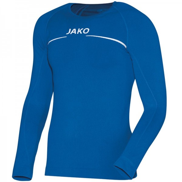 JAKO LONGSLEEVE COMFORT Herren Langarm Funktions-Unterhemd, Blau