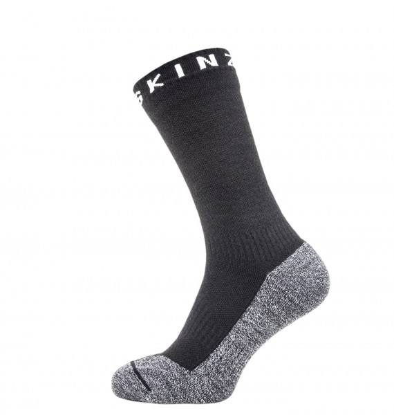 Sealskinz SOFT TOUCH MID LENGTH Unisex Outdoor/Sport Socken, Black/Grey/White