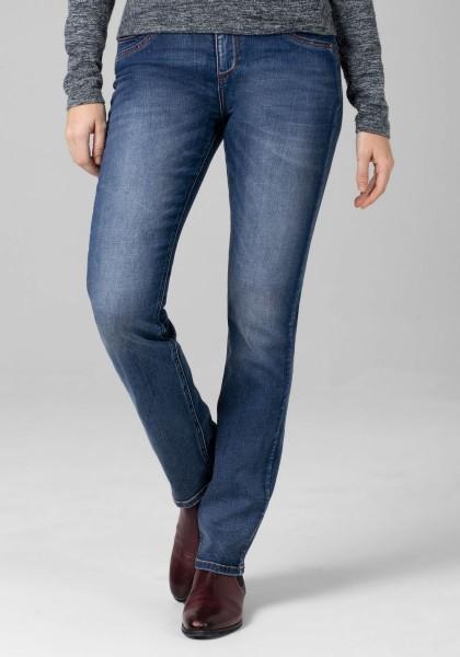 TIMEZONE TAHILA Damen Slim Jeans (30er Länge), Skylight Blue Wash
