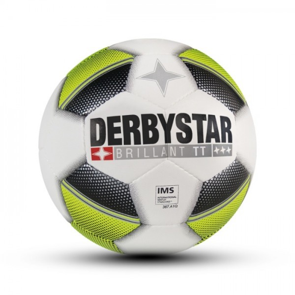 Derbystar BRILLANT TT Fussball, Weiss/Schwarz/Grün