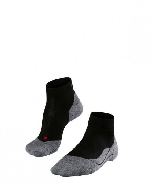 Falke RU4 SHORT Herren Running Socken, Black-Mix