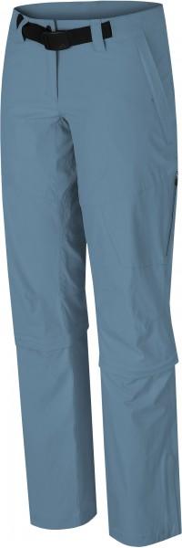 Hannah LIBERTINE Damen Zipp-Off Trekking-Hose, Provincial Blue