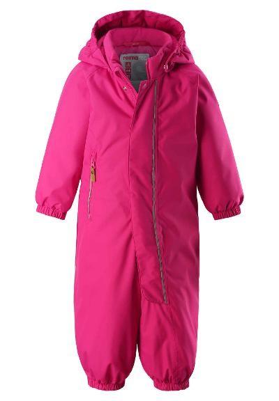 510306 4650 reima PUHURI REIMATEC WINTER-OVERALL Kleinkinder Schneeanzug, Raspberry Pink