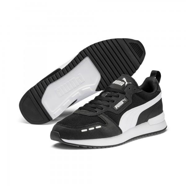 Puma R78 Unisex Runner Sneaker, Puma Black/Puma White