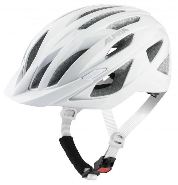 A9755-110 Alpina PARANA Unisex Fahrradhelm, White Gloss