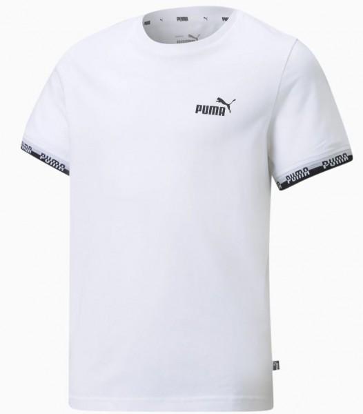 Puma AMPLIFIED Kinder T-Shirt, Puma White