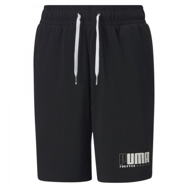 Puma ALPHA JERSEY SHORTS Kinder Shorts, Puma Black
