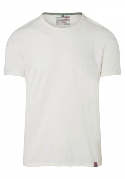 TIMEZONE BASIC SLUB Herren T-Shirt, Pure White