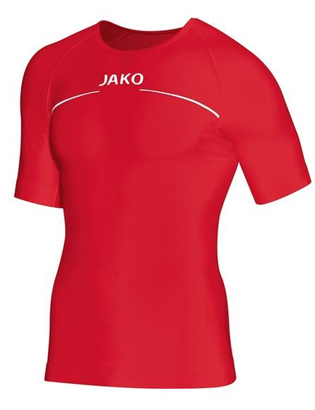 JAKO COMFORT Herren Sport-Shirt, Rot