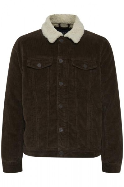 Blend OUTERWEAR Herren Cordjacke, Dark Earth Brown