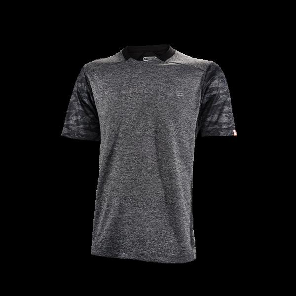 Protective RAWSON Herren Coffee Fibre Funktions-Shirt, Grey Melange