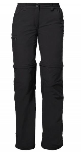 03873 010 Vaude FARLEY Zip-Off Damen Wander- & Trekkinghose, Black