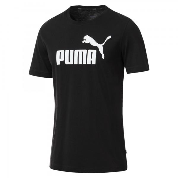 Puma ESSENTIALS Herren T-Shirt, Cotton Black