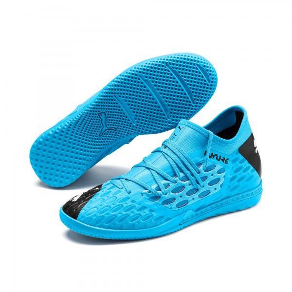 Puma FUTURE 5.3 NETFIT IT Herren Fußballschuhe, Luminous Blue-NRGY Blue-Puma B