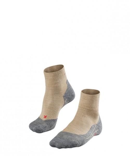 Falke TK5 SHORT Herren Trekking Socken, Nature-Melange
