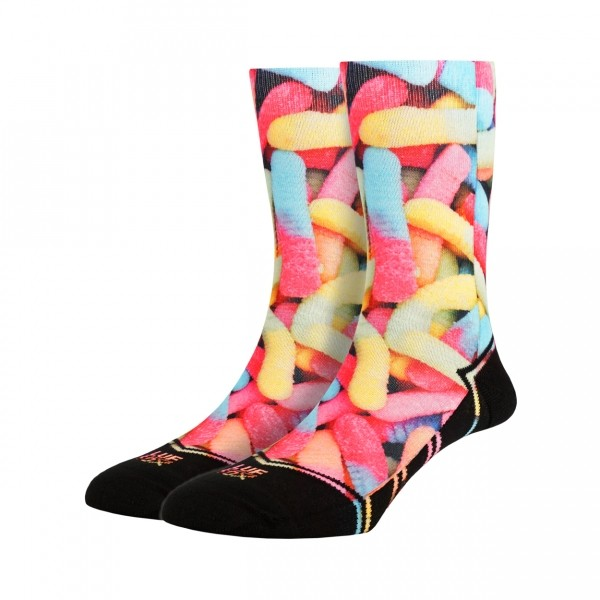 LUF|SOX CLASSICS Unisex Lifestyle Socken, Gummy Worms