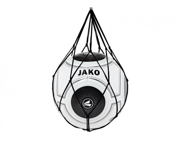 2391 08 JAKO Ballnetz (für 1 Fußball), Schwarz