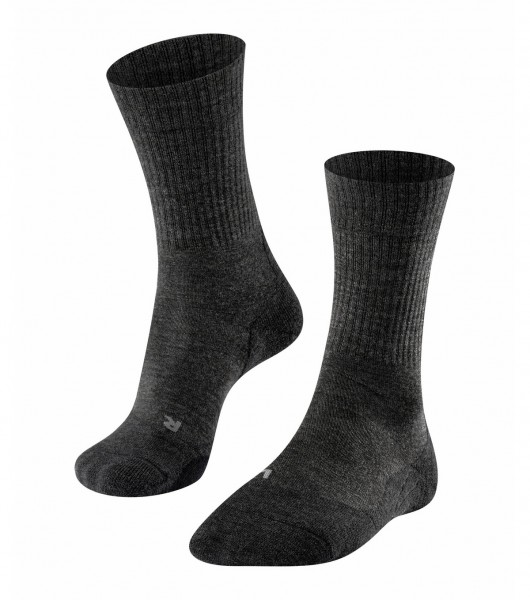 Falke TK2 WOOL Damen Trekking Socken, Smog