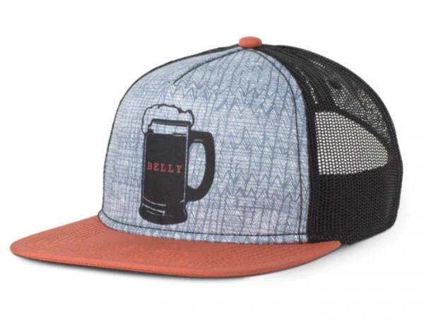 PrAna JOURNEYMAN Herren Trucker-Cap, Dry Chili Beer