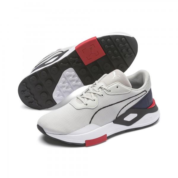 Puma SHOKU NON-KNIT BULLET TRAIN Herren Sneaker, Gray Violet/Peacoat