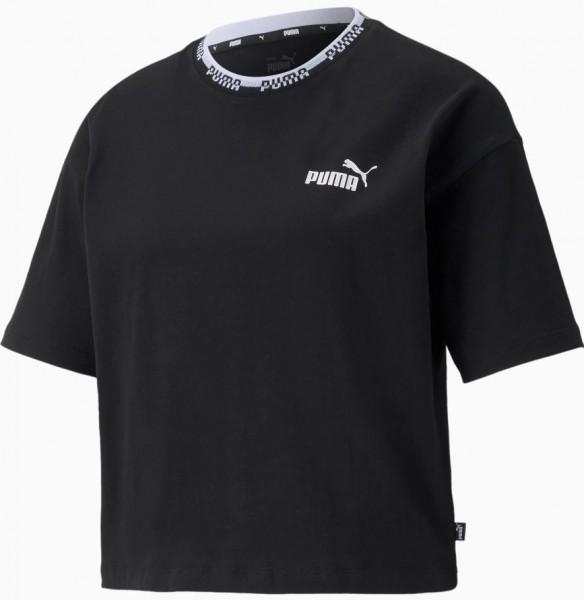 Puma AMPLIFIED Damen T-Shirt, Puma Black