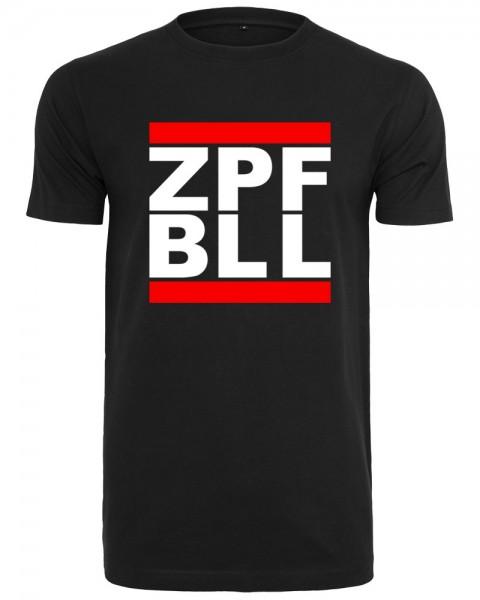 zopfball ZPFBLL STREETSHIRT MEN`S CUT Herren T-Shirt, Black
