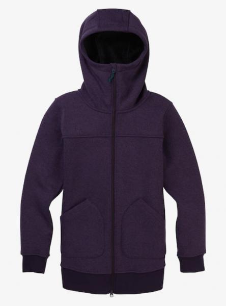 Burton MINXY Damen Fleece, Purple Velvet Heather
