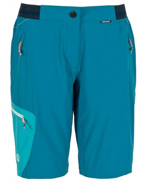 Ternua LANIN W Damen Trekking-Bermudashorts, Duck Blue
