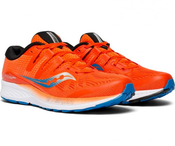 Saucony RIDE ISO Herren Running/Laufschuh, Orange/Blue