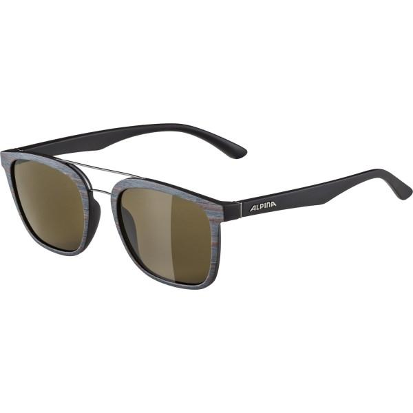 Alpina CARUMA I Unisex Sonnenbrille, Brown Grey/Matt
