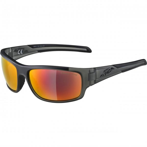 Alpina TESTIDO Unisex Sportbrille, Anthracite-Black/Matt