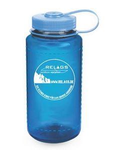 NALGENE 'WH' 0,5 L Trinkflasche, Slate Blue