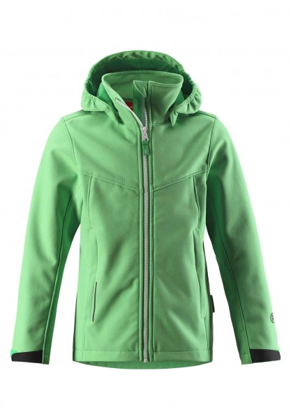 reima SYD JACKET Mädchen Softshell Jacke, Light Green