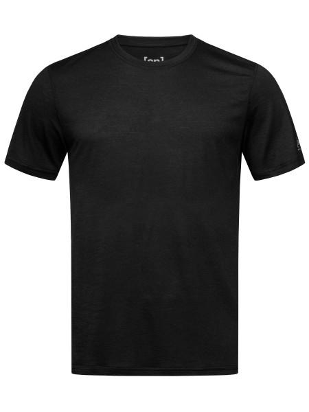 SNM003820 872 super.natural M BASE TEE 140 Herren Baselayer T-Shirt (Shortsleeve), Black