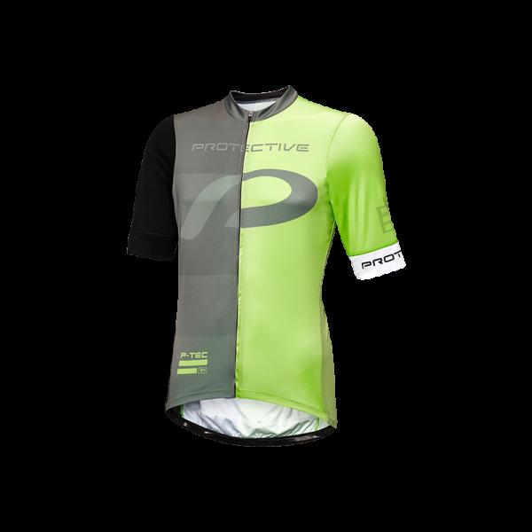 Protective MR RACE T BOLD Herren Kurzarm Fahrrad Trikot, Green
