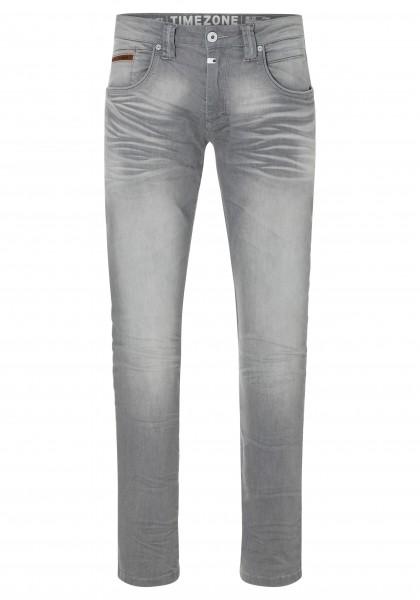 TIMEZONE SLIM EDWARD TZ Herren Jeans (34er Länge), Aged Chalk Wash