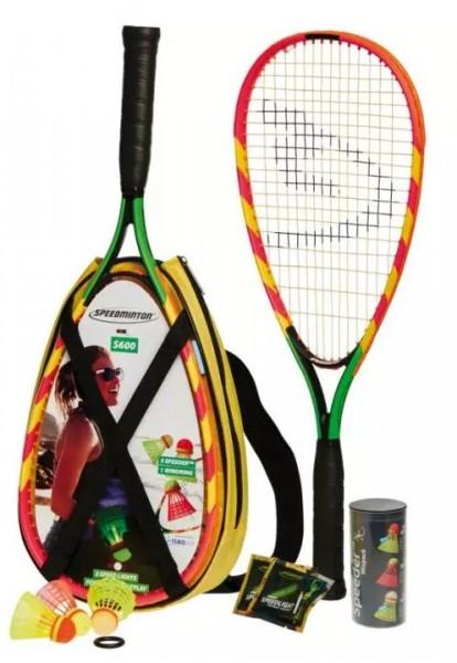 SPEEDMINTON SET S 600 Badmintonset, Multicolor