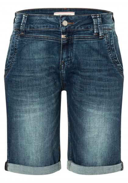 TIMEZONE SLIM NALITZ Damen Shorts, Skylight Blue Wash