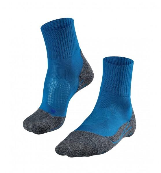 Falke TK2 SHORT COOL Herren Trekking Socken, Galaxy Blue