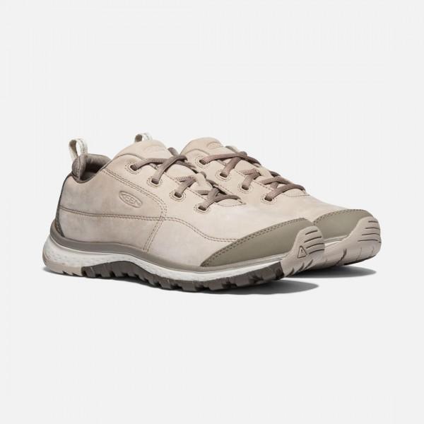 keen TERRADORA LEDER Damen Sneaker, Pure Cashmere/Brindle