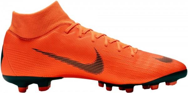 Nike SUPERFLY 6 ACADEMY MG Herren Fussballschuh, Orange/Black