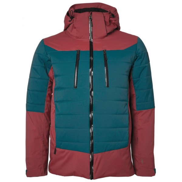 North Bend HIRAFU SKI JACKET Herren Ski-Jacke, Red Currant