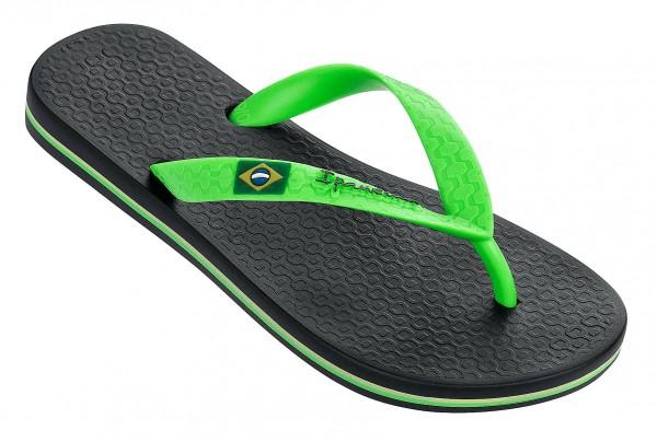 Ipanema CLASSIC BRASIL KIDS Kinder Zehentrenner, Black/Green