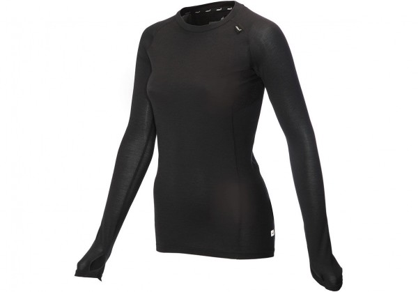 inov-8 AT/C LONG SLEEVE MERINO BASE LAYER Damen Langarm Funktions-Shirt, Black
