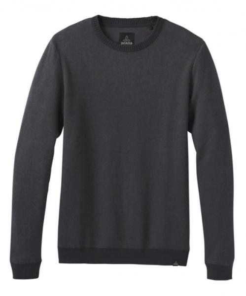 PrAna VERTAWN Herren Sweater, Charcoal Heather