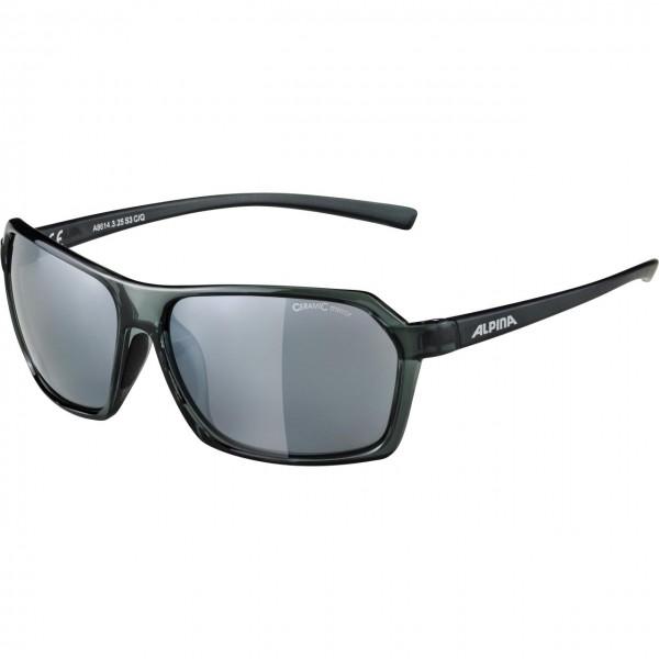 Alpina FINETY CM Unisex Sportbrille, Smoke Transparent