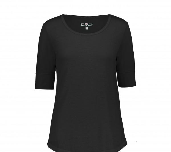 CMP Damen T-Shirt, Nero